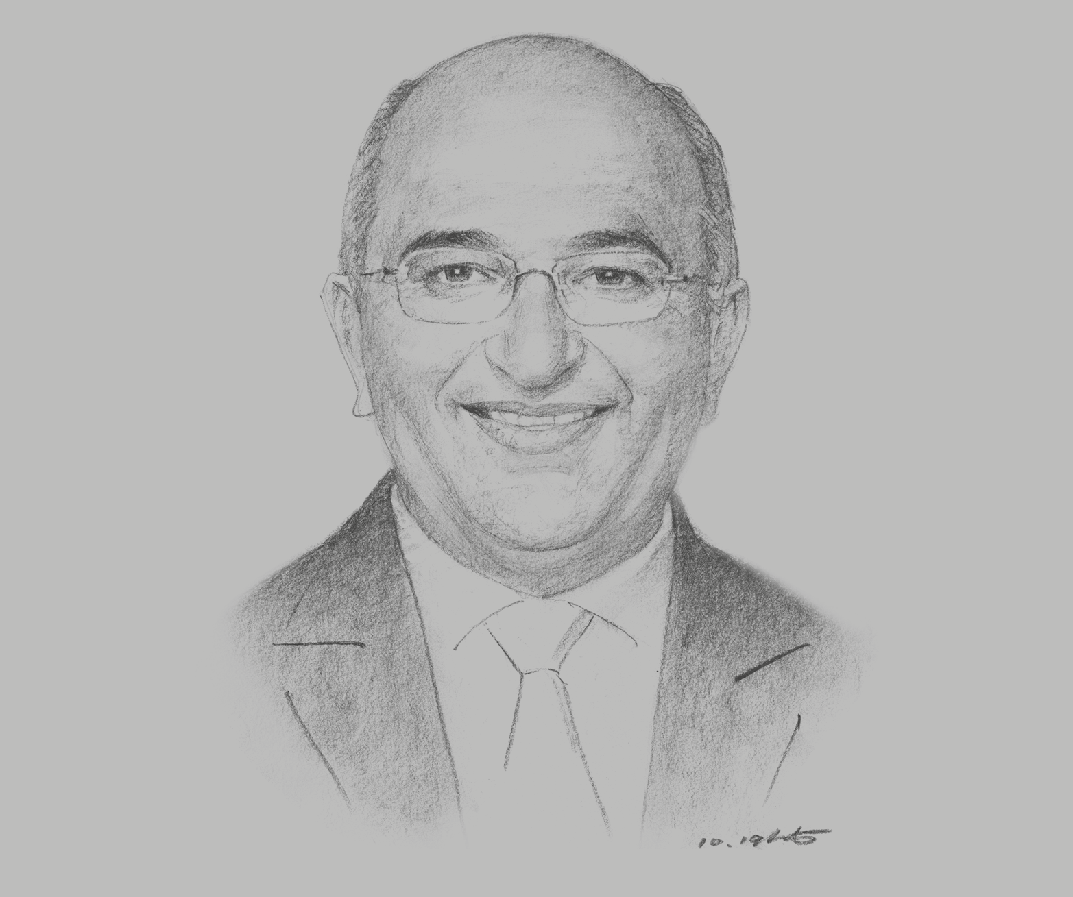 Sketch of <p>Ahmed Barakat, Managing Partner, ASAR – Al Ruwayeh & Partners</p>