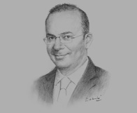 Sketch of Bishr Baker, Managing Partner, Ernst & Young (EY) Jordan & Iraq