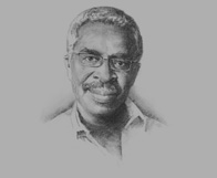 Sketch of Kojo Bentsi-Enchill, Senior Partner and Head of Energy & Natural Resources