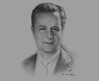 Sketch of David Cameron, UK Prime Minister