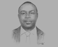 Sketch of David Awuah-Darko, Managing Director, IC Securities