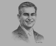 Sketch of Jaime Augusto Zobel de Ayala, Chairman and CEO, Ayala Corporation, on competitiveness