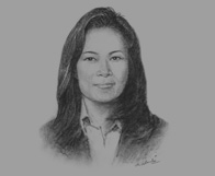 Sketch of Veronica Lukito, CEO, Ancora International