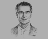 Sketch of Moritz Kraemer, Managing Director and Head of EMEA Sovereign Ratings, Standard & Poor's, on Kuwait's rating upgrade