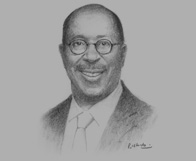 Sketch of Ambassador Ron Kirk, US Trade Representative