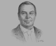 Sketch of Mohamad Talaat, Member of the Management Committee, Helmy, Hamza & Partners (Baker & McKenzie), on investment regulations