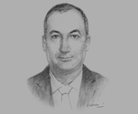 Sketch of  Samir Hadj Ali, Country Managing Partner