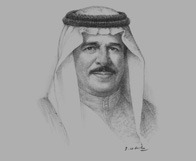 Sketch of King Hamad bin Isa Al Khalifa on the report of the Bahrain Independent Commission of Inquiry (BICI)
