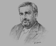Sketch of : David Salt, Partner, Clyde & Co