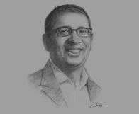 Sketch of Shoeb K Zainuddin, Group Editor-in-Chief, BeritaSatu Media Holdings