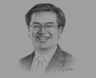 Sketch of Irhoan Tanudiredja, Senior Partner, PricewaterhouseCoopers