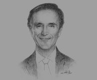 Sketch of Lord Green of Hurstpierpoint, UK Minister of State for Trade and Investment