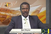 Ben Chumo discussing Kenya's banking Sector