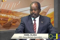 Habil Olaka discussing Kenya's banking Sector