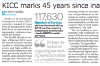 KICC marks 45 years since inauguration
