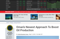 Oman's Newest Approach To Boost Oil Production