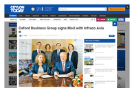 OBG signs MoU with InfraCo Asia