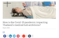 How is Covid-19 Pandemic Impacting Thailand's Medical Ambition