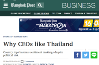 Why CEOs like Thailand