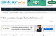 How mergers are changing Thailand's banking sector