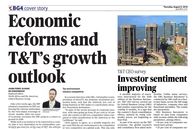 Economic reforms and T&T's Growth outlook - OBG's CEO Survey