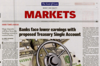 Banks face lower earnings with proposed Treasury Single Account