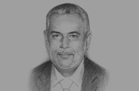 Sketch of <p>Abdelilah Benkirane, Head of Government</p>
