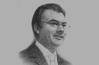 Sketch of <p>Luis Videgaray Caso, Mexico Minister of Finance and Public Credit </p>
