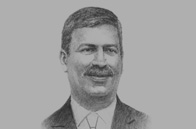 Sketch of <p>Francisco González Díaz, General Manager, ProMéxico</p>