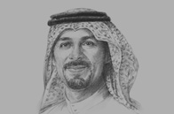 Sketch of <p>Adel Al Ghamdi, CEO, Saudi Stock Exchange</p>