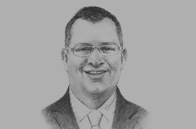 Sketch of <p>Mohamad Salim, Group Managing Director, MRCB</p>