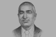 Sketch of <p>Wasantha Kumarasiri, Managing Director, Independent Public Business Corporation (IPBC)</p>