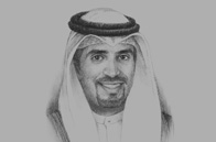 Sketch of <p>Meshaal Jaber Al Ahmad Al Sabah, Director-General, Kuwait Direct Investment Promotion Authority (KDIPA)</p>