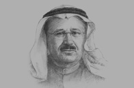 Sketch of <p>Riyadh Al Saleh, Chairman and CEO, Kharafi National</p>