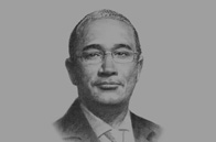 Sketch of <p>Serge Thierry Mickoto, Managing Director, Gabonese Strategic Investment Fund (FGIS)</p>