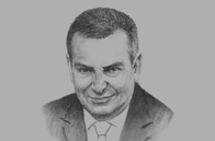 Sketch of <p>Ulrich T Eckhardt, President of India, Middle East & Africa, Kempinski Hotels</p>
