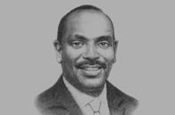 Sketch of <p>Richard Sezibera, Secretary-General, East African Community (EAC) </p>