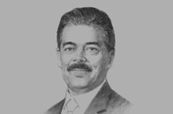 Sketch of <p>Vimal Shah, Chairman, Kenya Private Sector Alliance (KEPSA)</p>
