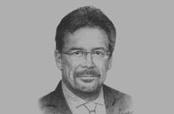 Sketch of <p>Pierre Imhof, CEO, Baiduri Bank</p>