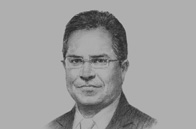 Sketch of <p>Javed Ahmad, Managing Director, Bank Islam Brunei Darussalam (BIBD)</p>