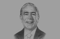 Sketch of <p>Angel Gurría, Secretary-General, OECD</p>