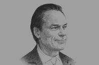Sketch of <p>Jim Cowles, CEO for Europe, Middle East & Africa, Citigroup</p>