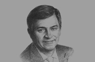 Sketch of <p>Johan van Zyl, CEO, Toyota Africa</p>
