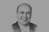 Sketch of <p>OBG talks to Ahmed Heikal, Chairman and Founder, Qalaa Holdings</p>