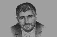 Sketch of <p>Mohamed Laid Benamor, President, Algerian Chamber of Commerce and Industry</p>