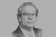 Sketch of <p>Gonzalo Gutiérrez Reinel, Minister of Foreign Affairs</p>
