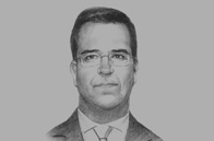 Sketch of <p> Christian Laub, President, Lima Stock Exchange (BVL)</p>