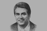 Sketch of <p>Roberto Azevêdo, Director-General, World Trade Organisation (WTO)</p>