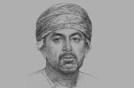 Sketch of <p>Ali bin Masoud Al Sunaidy, Minister of Commerce and Industry</p>