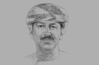 Sketch of <p>Hamood Al Zadjali, Executive President, Central Bank of Oman (CBO)</p>